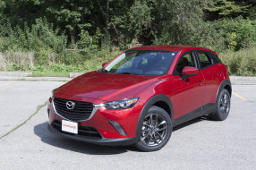 2018, Mazda, CX-3, Review, Subcompact, Crossover, red