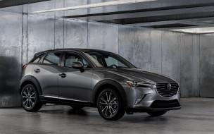 Mazda, 2017, Edition, Senses, CX-3, серый