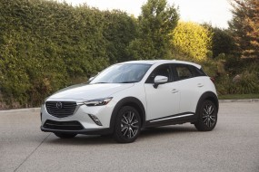 CX-3, белый, 2018, Crossover, Review, Subcompact, Mazda