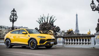 Lamborghini, 2019, Urus, жёлтый