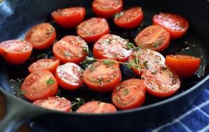 томаты, помидоры, майоран