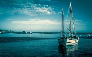 яхта, море, корабли