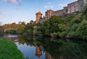lismore castle, города, замки ирландии, замок