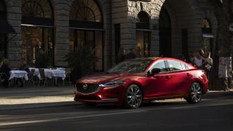 красный, 2018, Mazda6