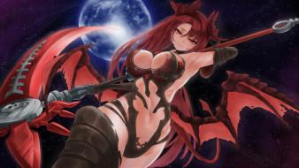обои для рабочего стола 3025x1701 аниме, ангелы,  демоны, king's, raid