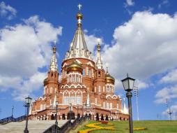 храм, Свято- Михайловский, собор, Ижевск, Россия