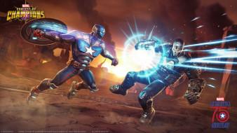 Contest of Champions, action, Marvel, файтинг