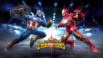 Marvel, файтинг, action, Contest of Champions