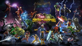 файтинг, action, Contest of Champions, Marvel