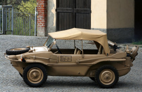 volkswagen type-166 schwimmwagen 1942, техника, военная техника, schwimmwagen, type-166, volkswagen, 1942