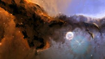 звезды, туманность, галактика, пространство, сверхновая