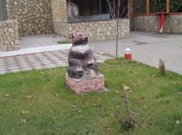 памятник, город, скульптура