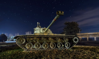 танк, оружие, M48 Patton