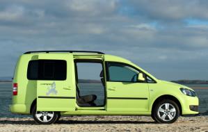 Volkswagen Caddy Camper UK-spec 2013 обои для рабочего стола 2048x1304 volkswagen caddy camper uk-spec 2013, автомобили, volkswagen, caddy, camper, uk-spec, 2013