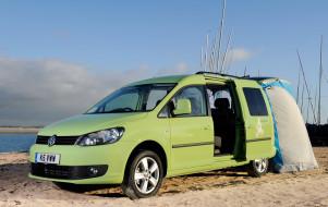 Volkswagen Caddy Camper UK-spec 2013 обои для рабочего стола 2048x1296 volkswagen caddy camper uk-spec 2013, автомобили, volkswagen, caddy, camper, uk-spec, 2013