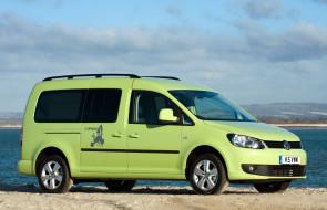 Volkswagen Caddy Camper UK-spec 2013 обои для рабочего стола 2048x1320 volkswagen caddy camper uk-spec 2013, автомобили, volkswagen, caddy, camper, uk-spec, 2013