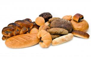 батон, булочки, хлеб