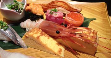ассорти, японская, кухня, роллы