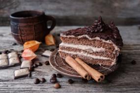 пирожное, шоколад