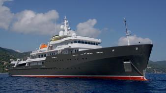 superyacht yersin, корабли, Яхты, суперяхта