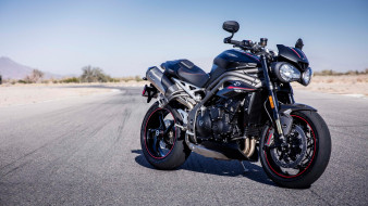 4K, 2018 Triumph Speed Triple RS, мотоцикл, триумф