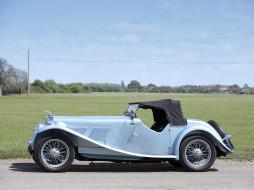 Tourer, Supercharged, 1938, 16-90, Six, AC