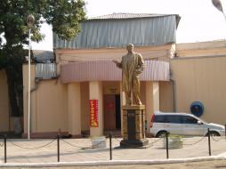 город, памятник, скульптура