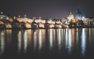 Чехия, Прага, Prague, Карлов мост, Charles Bridge, Czech Republic