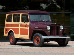 1949, Wagon, Station, Willys