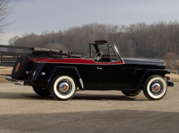 1951, Jeepster, Overland, Willys