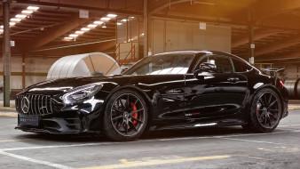 edo competition mercedes-benz amg gt-r 2018, автомобили, mercedes-benz, чёрный, 2018, gt-r, edo, competition, amg