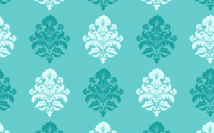 seamless, pattern, damask, vector, background, classica