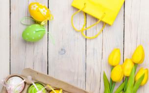весна, Easter, пасха, тюльпаны, egg, праздник