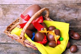 шоколадные, яйца