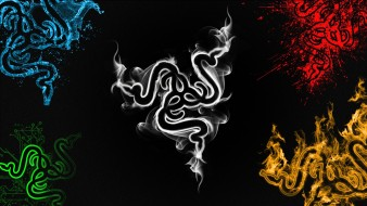 фон, Razer, логотип