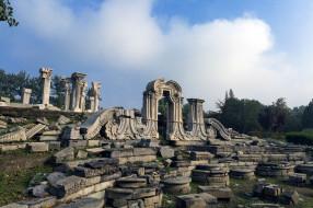 Beijing Yuanmingyuan ruins park