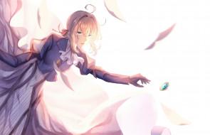 аниме, violet evergarden, девушка