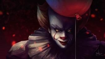 фильм, клоун, Оно, воздушный шарик, демон, Pennywise