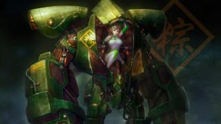 фэнтези, роботы,  киборги,  механизмы, робот, девушка
