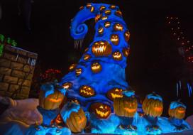праздничные, хэллоуин, тыквы