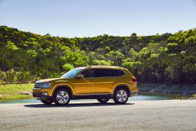 V6, 2017, Volkswagen, 4MOTION, Atlas