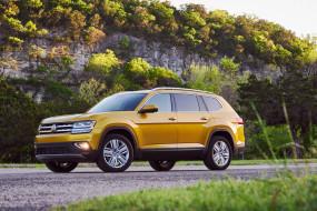 V6, Volkswagen, 4MOTION, 2017, Atlas