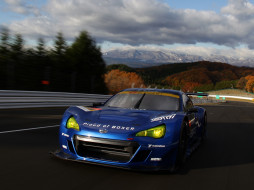 BRZ, 2012, GT300, blue, Subaru