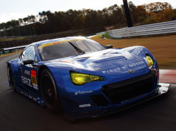 blue, Subaru, BRZ, GT300, 2012