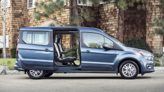 2019, Wagon, Connect, Transit, Ford
