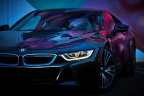 машина, BMW i8, вид, цвета