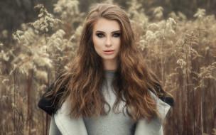 девушка, девушки, -unsort , брюнетки, темноволосые, модель, joanna latanska