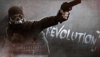 видео игры, homefront,  the revolution, the, revolution, action, шутер