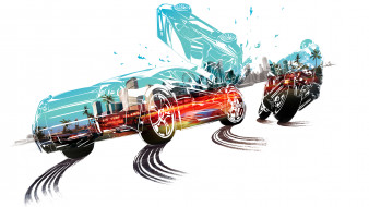 Burnout Paradise, гонки, симулятор, аркада