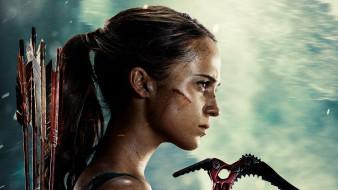 кино фильмы, tomb raider , 2018, tomb, raider, lara, croft, alicia, vikander